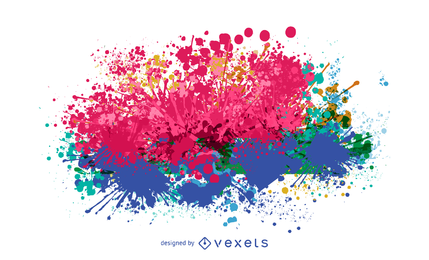 429x260 Ink Splashes Vector Graphics To Download