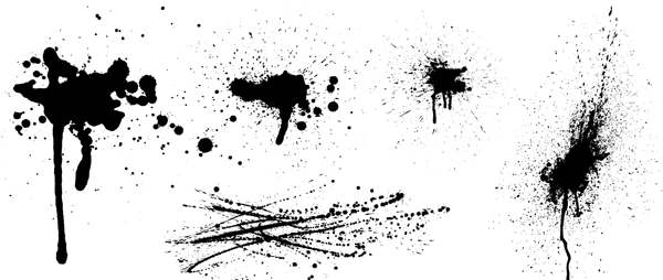 600x254 Free Vector Grunge Graphics For Designers And Illustrators