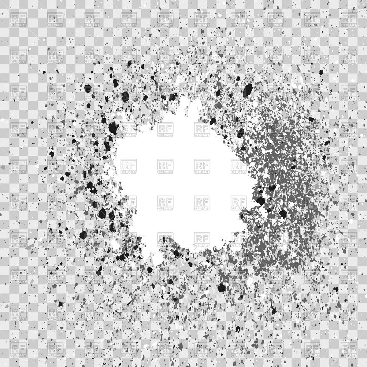1200x1200 Silver Explosion Of Paint Splatter Vector Image Vector Artwork