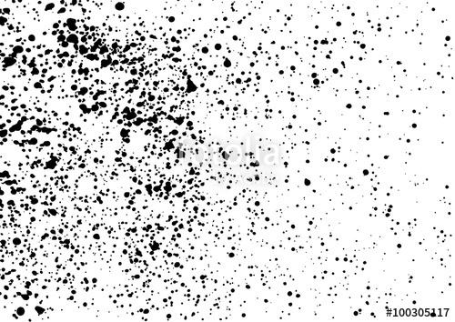 500x354 Splatter Background. Black Calligraphy Ink Splats. Spray Paint