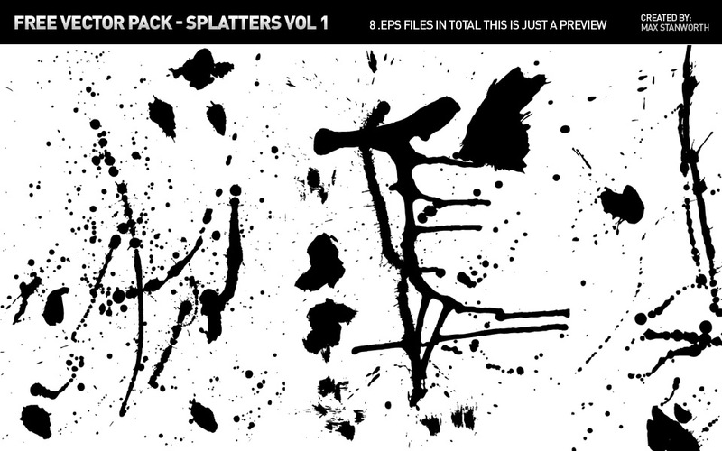 800x500 Free Download Of Splatter Vector Graphics And Illustrations