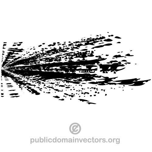 500x500 236 Free Vector Splatter Grunge Public Domain Vectors