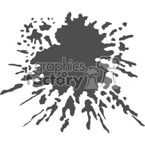 300x300 Royalty Free Paint Splat Splatter Design Vector Art V5 403253