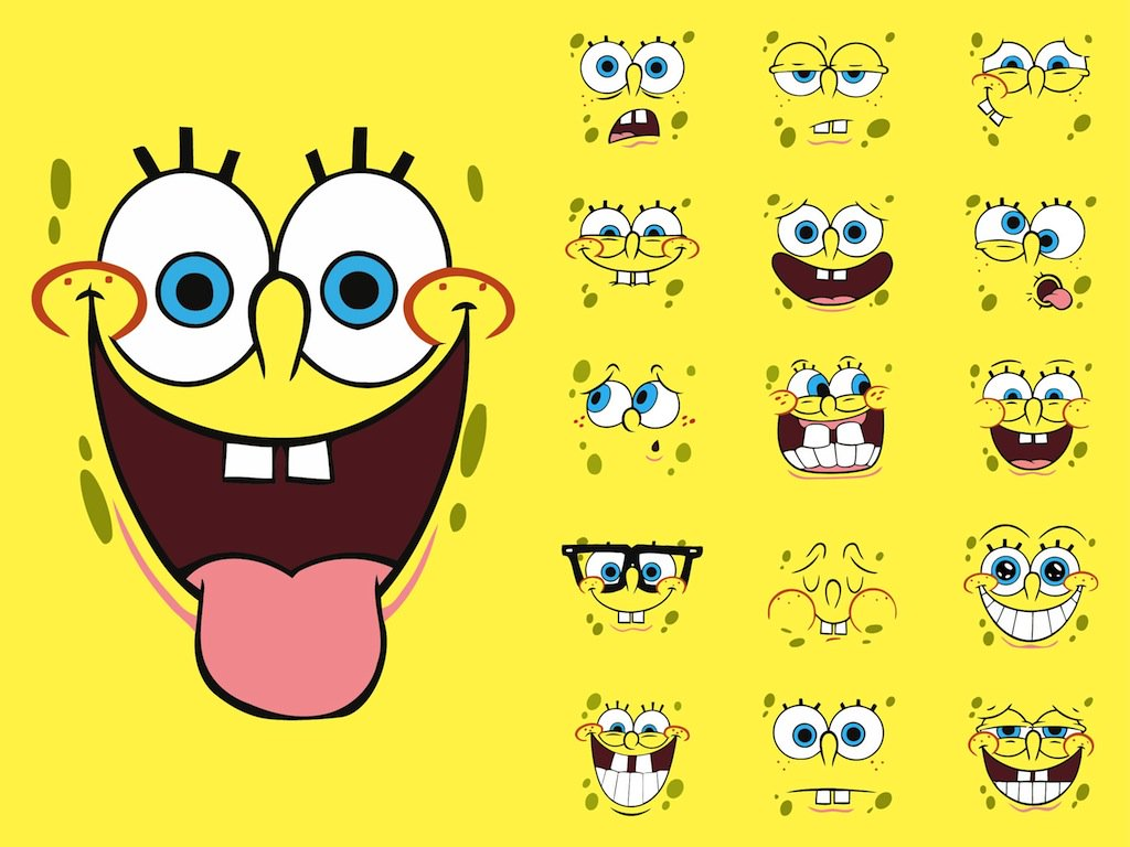 1024x768 Spongebob Squarepants Vector Art Amp Graphics