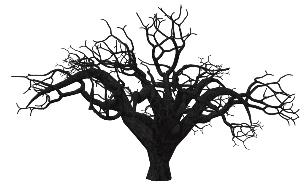1024x645 Spooky Tree Vector Freeuse Download