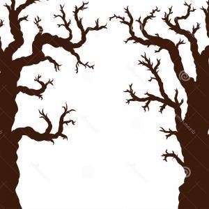 300x300 Stock Illustration Halloween Creepy Scary Bare Tree Lazttweet