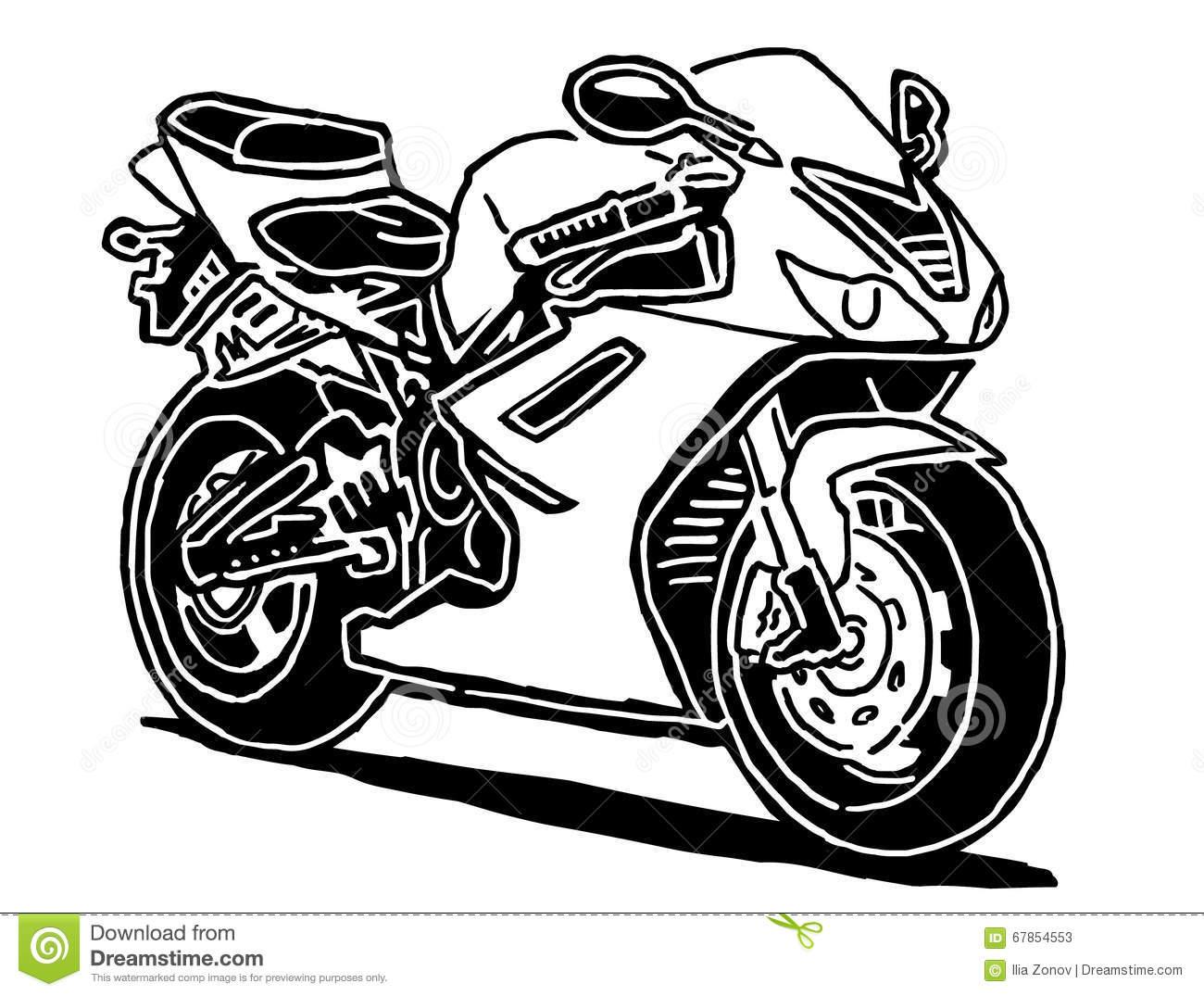 Sportbike Vector