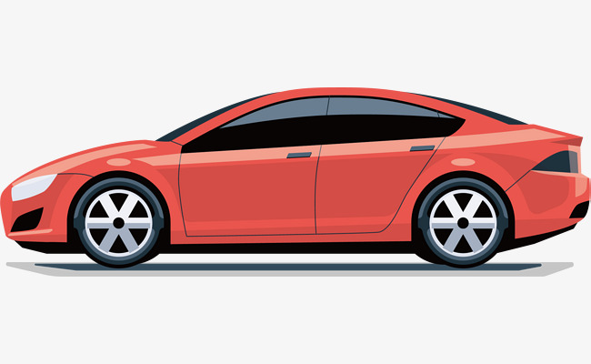 650x400 Red Sports Car Vector, Car Vector, Sports Car, Automobile Png And