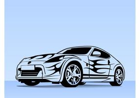 286x200 Sports Car Free Vector Art