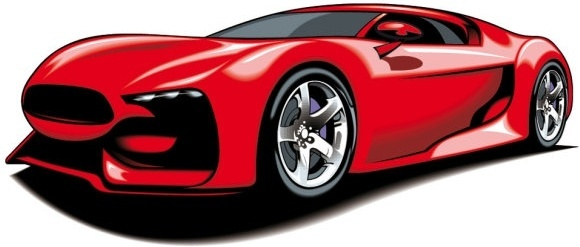 580x247 Sports Car Free Vector Download (4,435 Free Vector) For Commercial