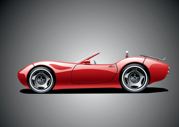 600x424 Sports Cars Vector Free Vector 4vector
