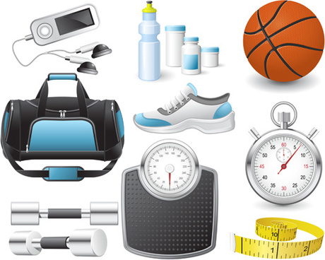 460x368 Free Cartoon Pictures Of Sports Equipment Free Vector Download