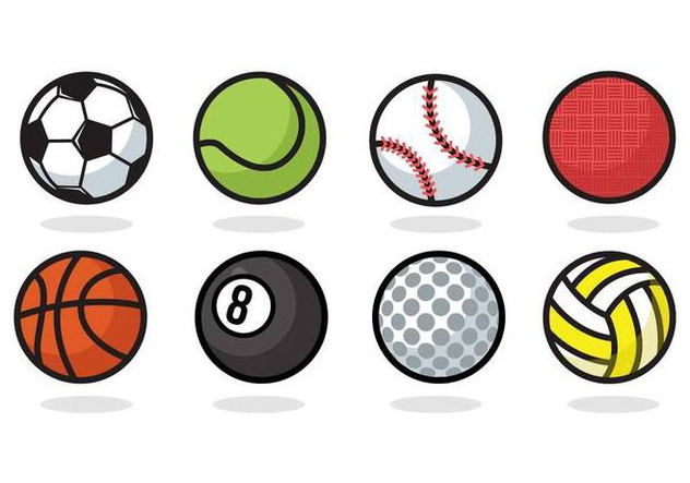 632x443 Free Sport Ball Icons Vector Free Vector Download 379773 Cannypic