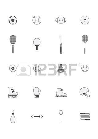 318x450 Set Sports Players Royalty Free Cliparts Vectors And Stock Sports