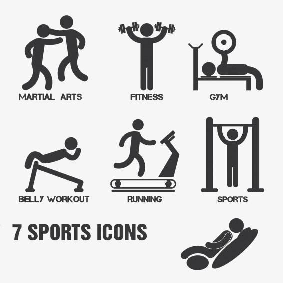 567x567 Sports Icon,sketch,simple Monochrome, Icon Vector, Sketch Vector