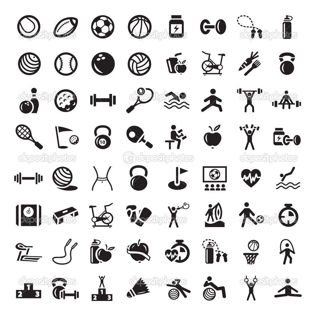 1024x1024 19 Vector Sports Icons Images
