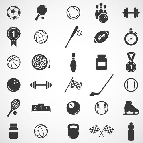 500x500 Sports Icons Creative Vectors Set 03 Free Download