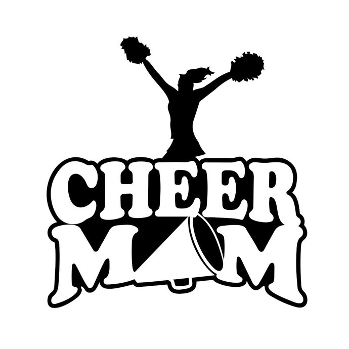 690x690 Cheer Mom Sports Graphics Design Svg Dxf Eps By Vectordesign On Zibbet