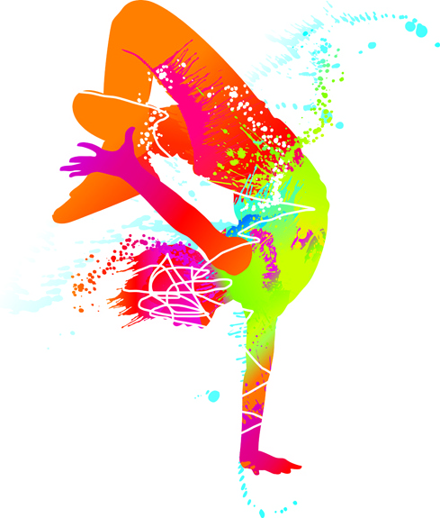 489x575 Colored Sports Elements Vector Art Free Vector In Encapsulated