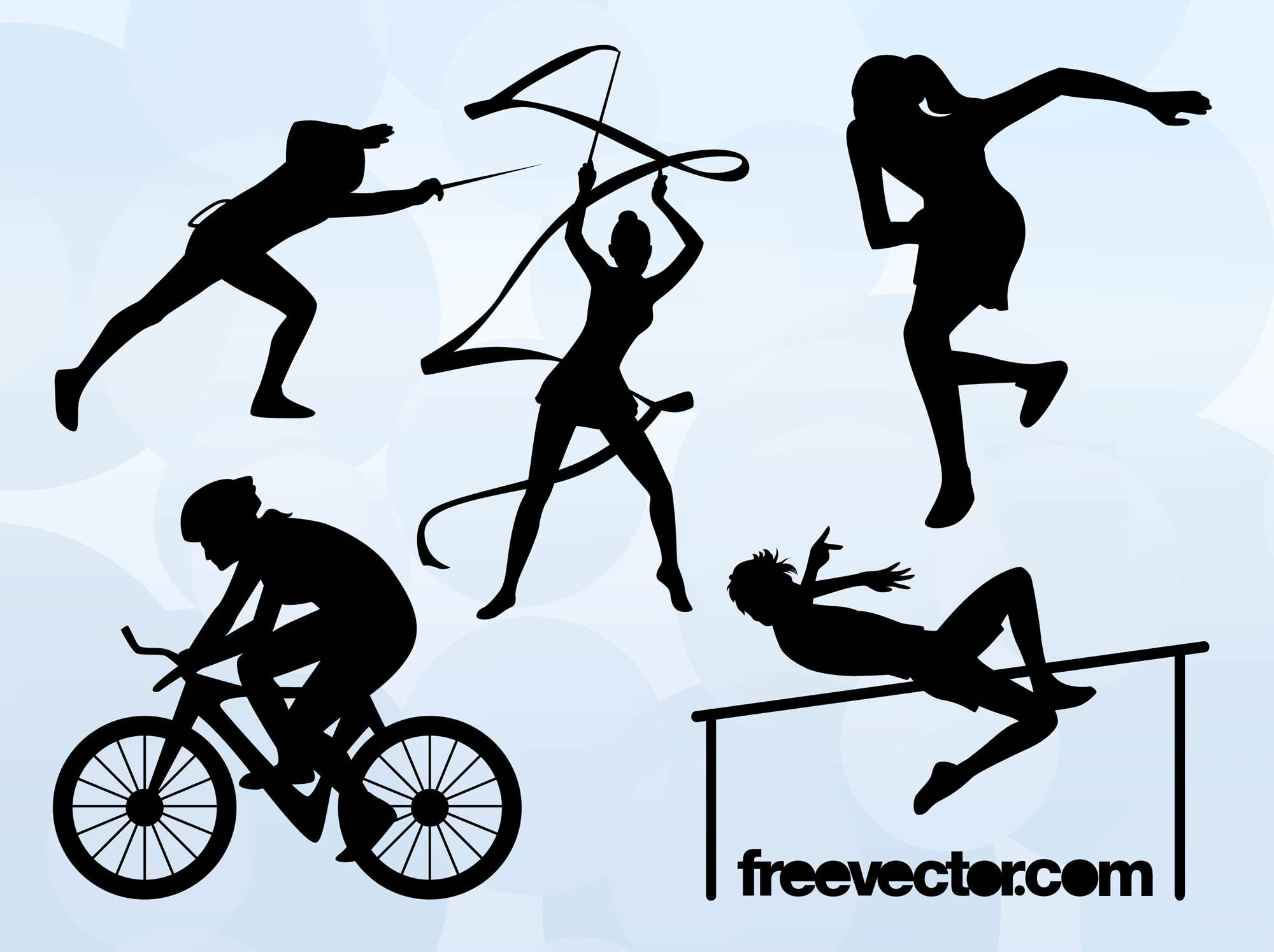 2000x1495 Olympic Sports Silhouettes Vector Art Amp Graphics