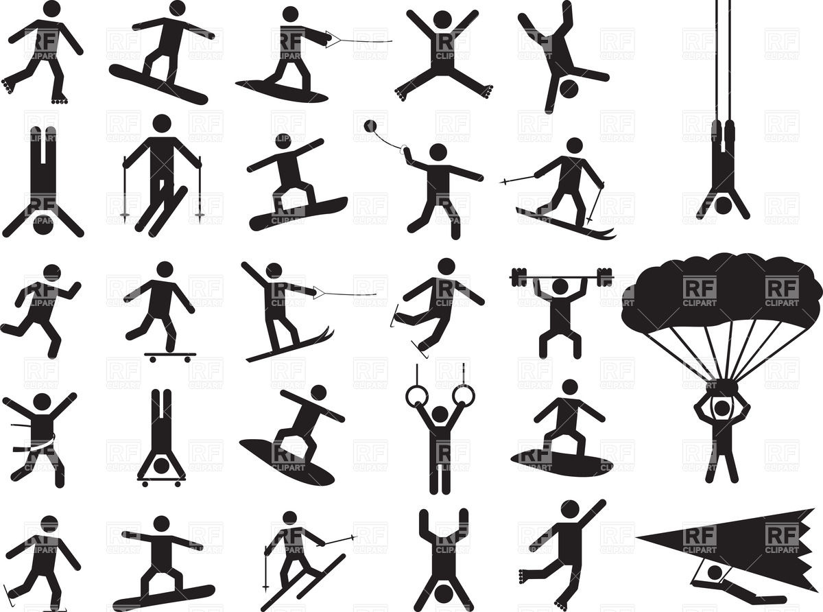 1200x892 People Pictograms