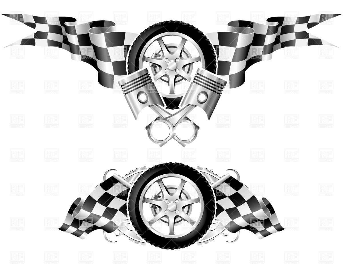 1200x925 Sports Race Emblems Vector Image Vector Artwork Of