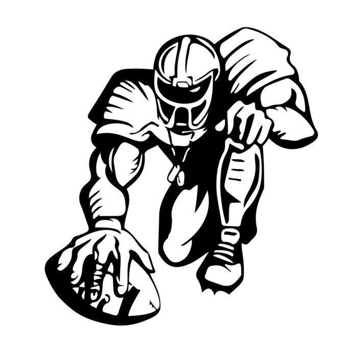 690x690 American Football Sports Graphics Design Svg By Vectordesign On Zibbet