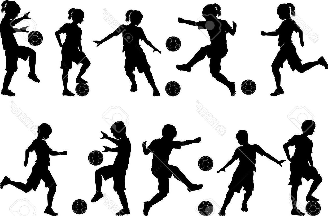 1300x857 Best Girls Soccer Vector Images Free Vector Art, Images