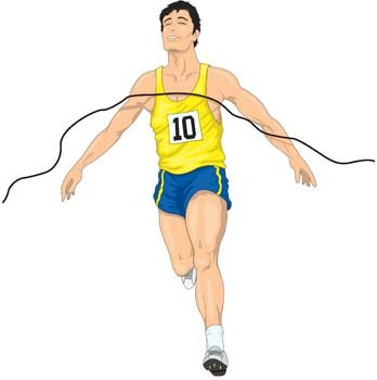 348x350 Free Running Sport Vector 14 Clipart And Vector Graphics