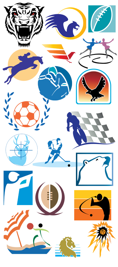 401x906 Sports Amp Mascots Logo Vector Expansion Pack