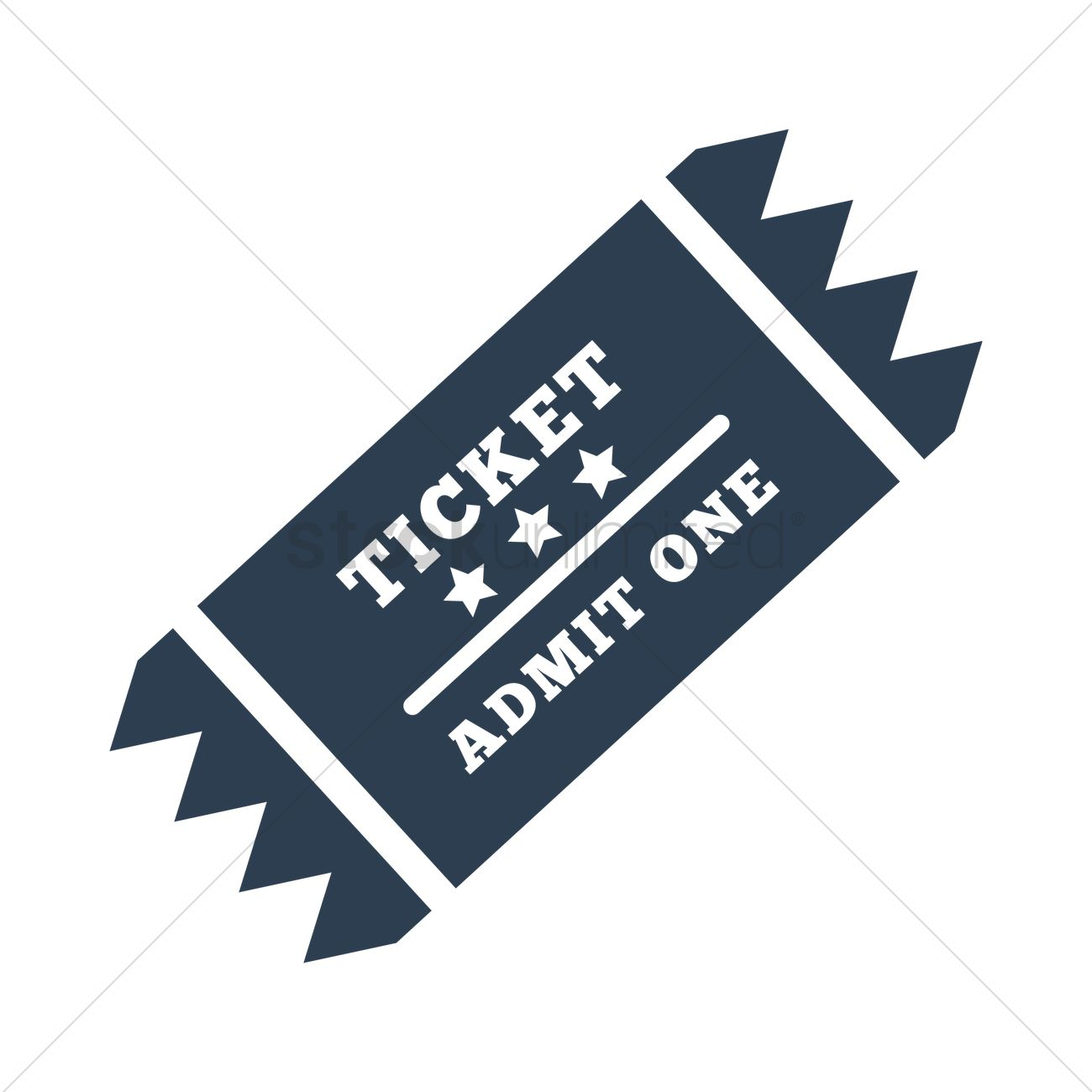 1300x1300 Sports Ticket Icon Vector Image