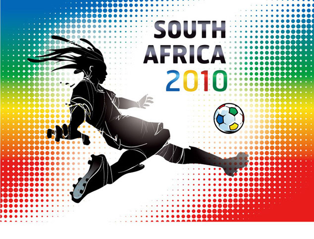 634x483 2010 South Africa World Cup Vector Graphics Free Download