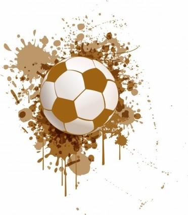 372x425 Vector Soccer Ball Sport Vector Graphics