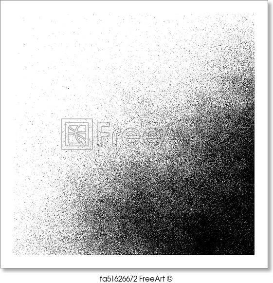 561x581 Free Art Print Of Vector Spray Paint Splatter Texture. Vector