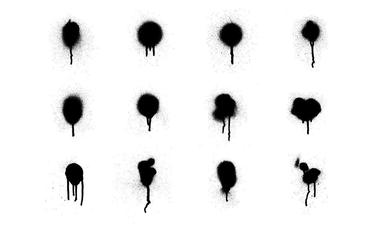 1270x778 Adobe Illustrator Spray Paint Vector Art