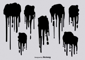 285x200 Drips Spray Paint Free Vector Graphic Art Free Download (Found