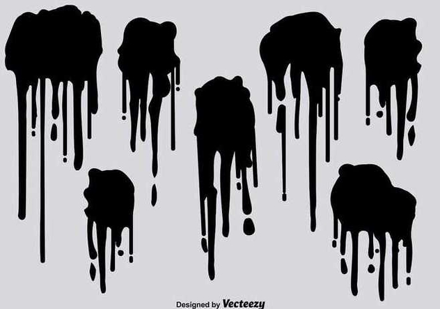 632x443 Black Spray Paint Drips Vectors Free Vector Download 347415 Cannypic