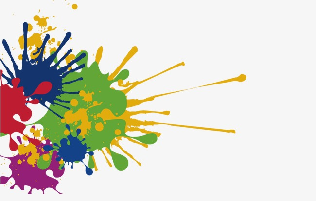 650x414 Vector Colorful Paint Color Ink, Paint Vector, Color Vector