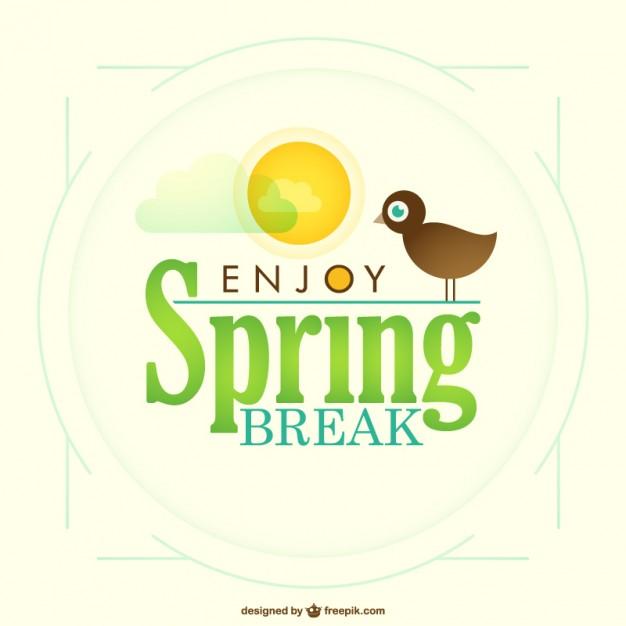 626x626 Spring Break Vector Vector Free Download