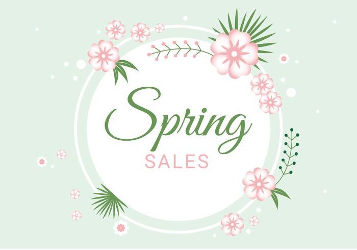 700x490 Spring Sale Free Vector Art