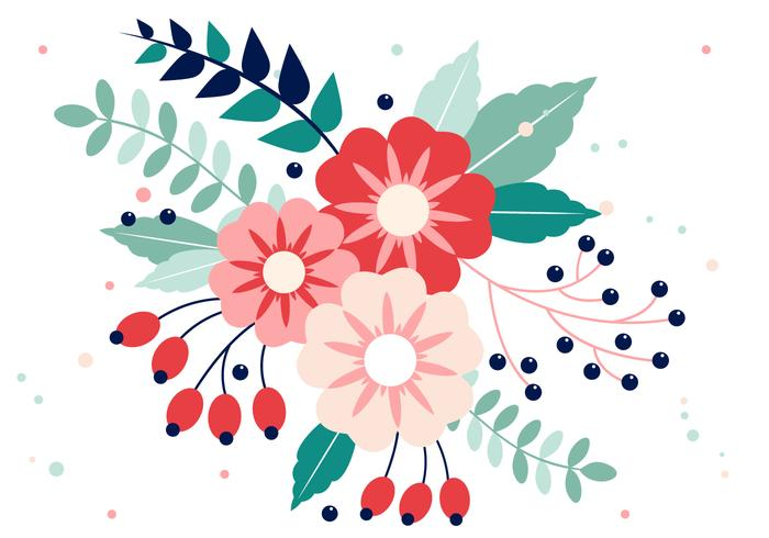 700x490 Flowers Free Vector Art