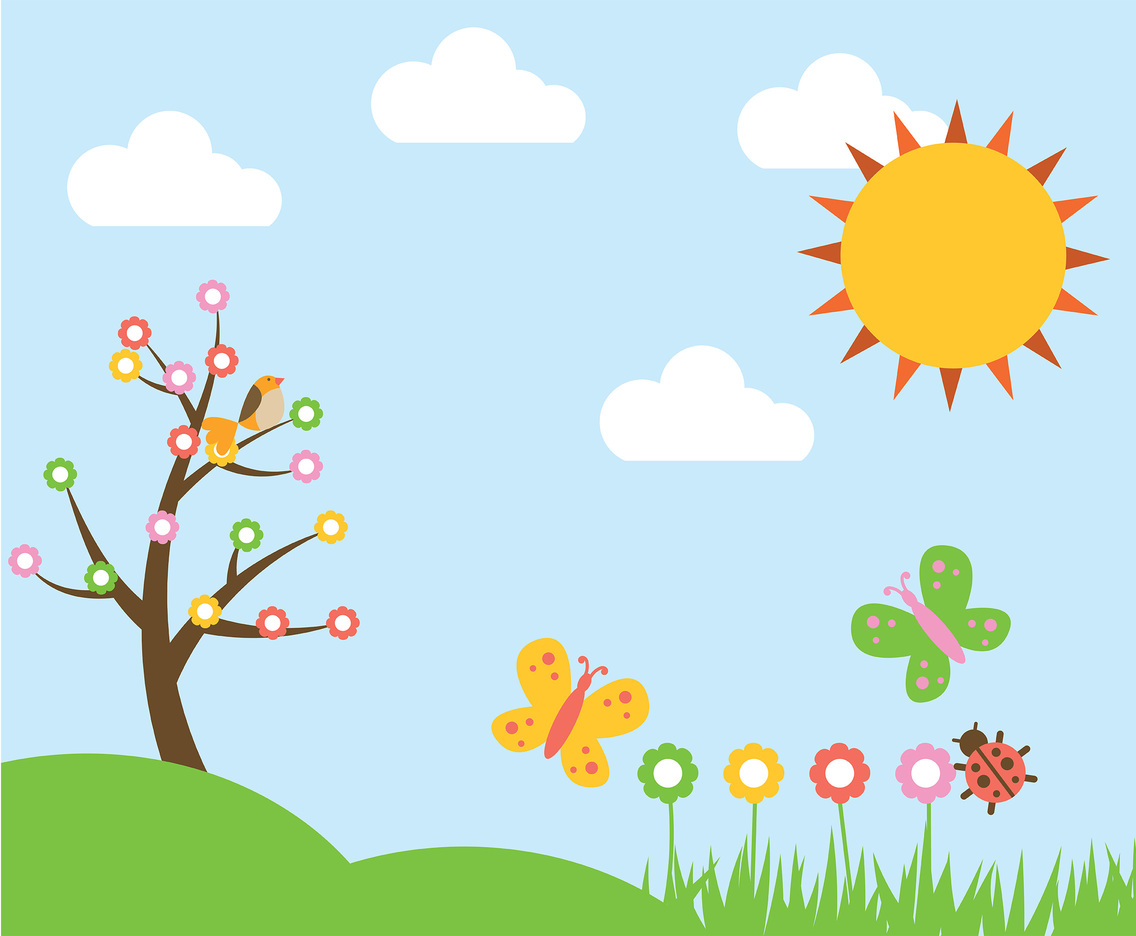 1136x936 Spring Background Vector Vector Art Amp Graphics