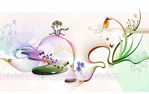 626x396 Spring Vector Graphic Vector Free Download
