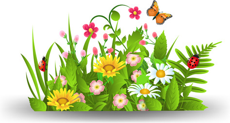 474x255 Branch Spring Flowers Birds Clip Art Free Vector Download (217,388