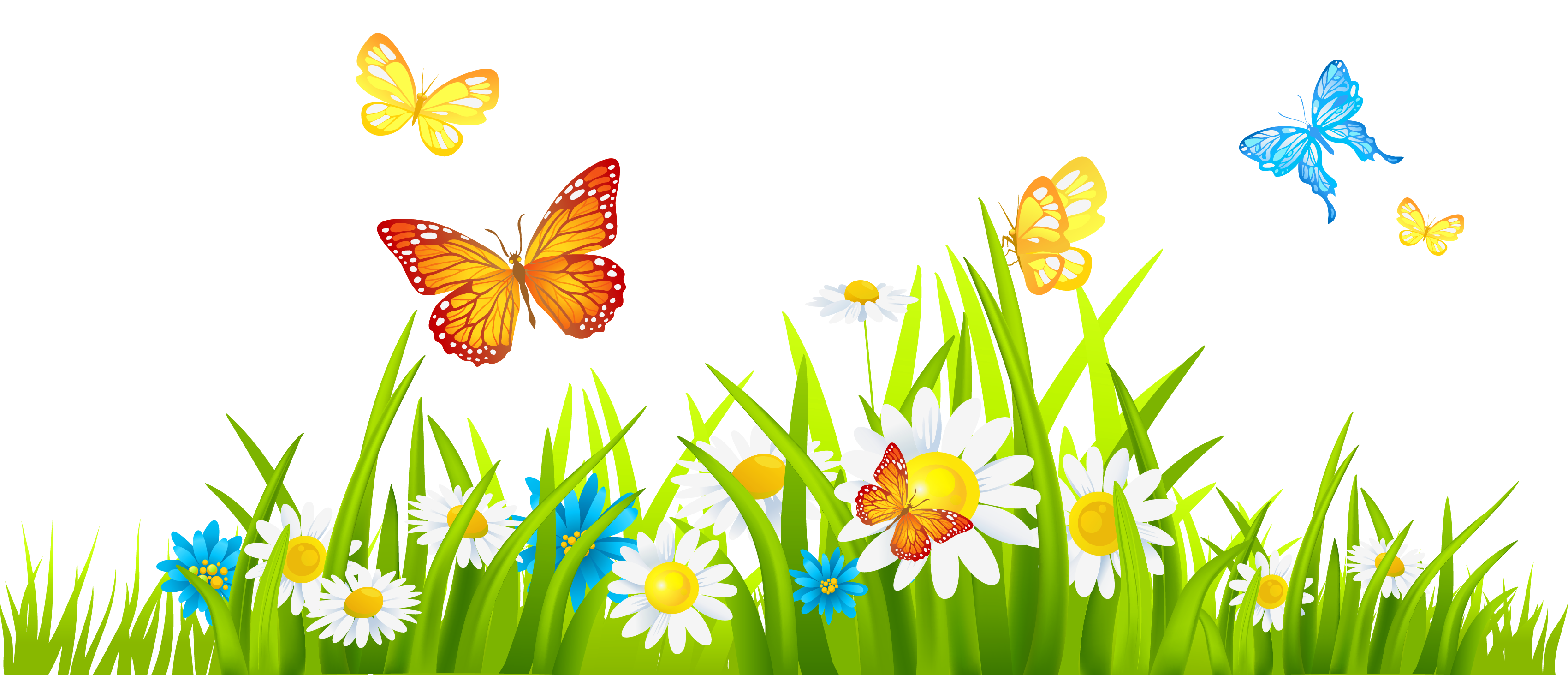 3400x1463 Collection Of Free Spring Vector Background. Download On Ubisafe