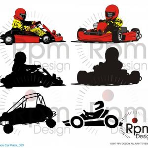 300x300 Cs Chassis Sprint Car Premium Vector Template Rongholland