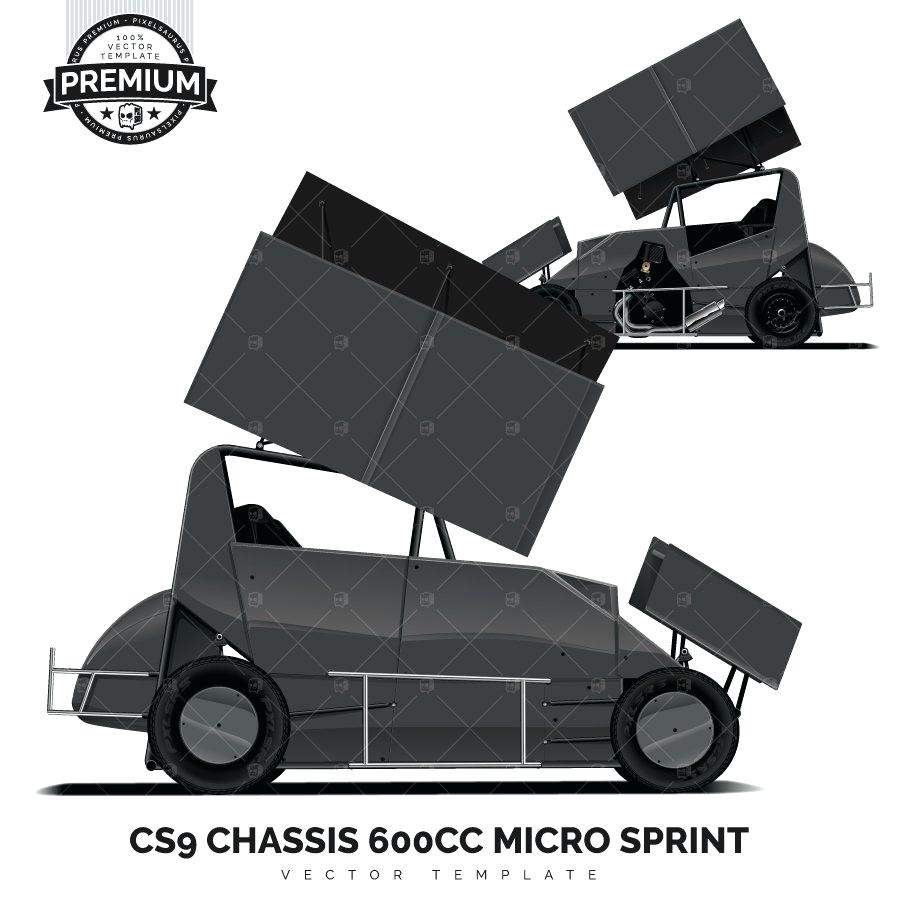900x900 Template Sprint Car Design Template Image Of Chassis Micro