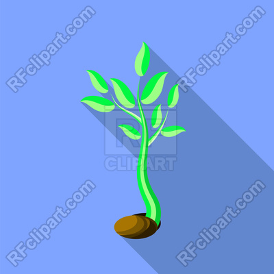 400x400 Little Green Sprout Vector Image Vector Artwork Of Plants And