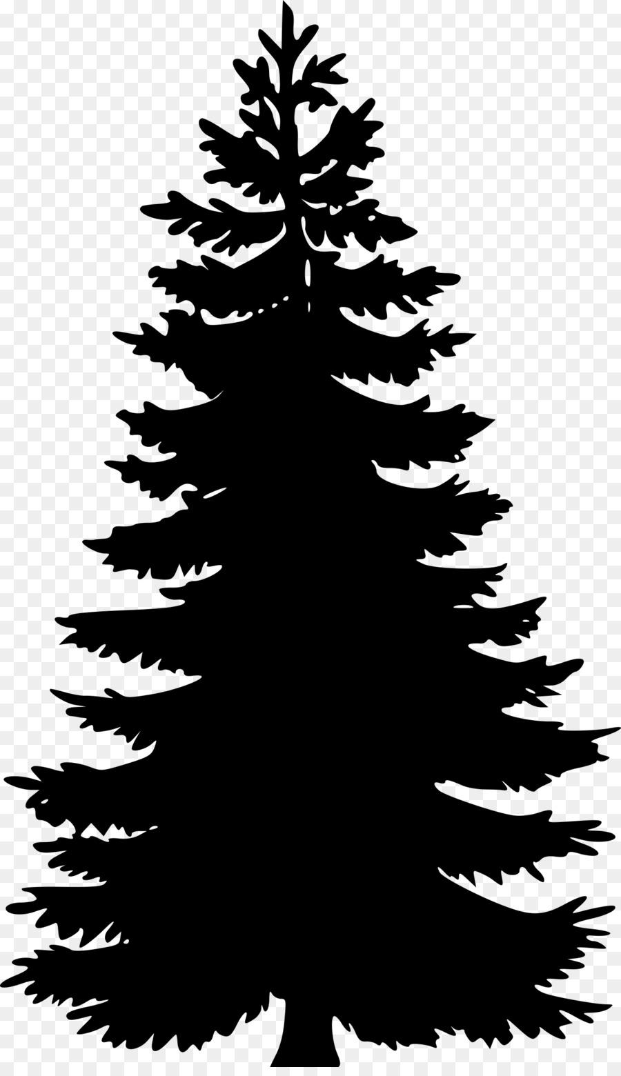 900x1560 Pine Tree Fir Silhouette Clip Art