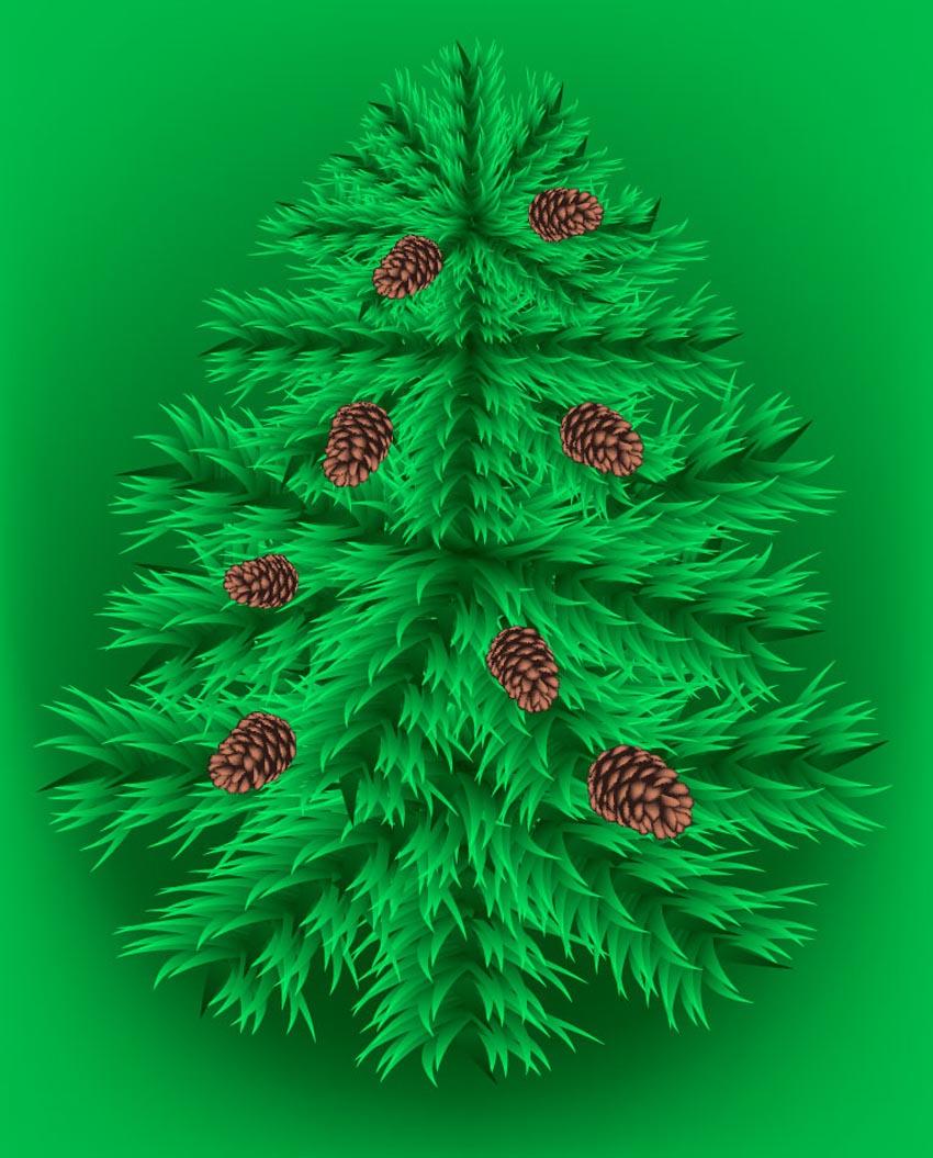 850x1055 Fir Tree Vector Art Amp Graphics
